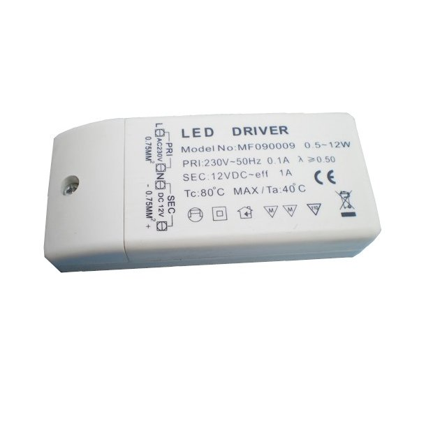 12 Volt, 12 Watt LED driver
