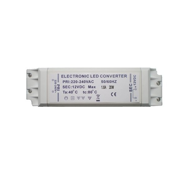 12 Volt, 20 Watt LED driver