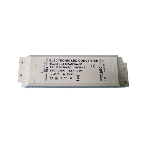12 Volt, 30 Watt LED driver