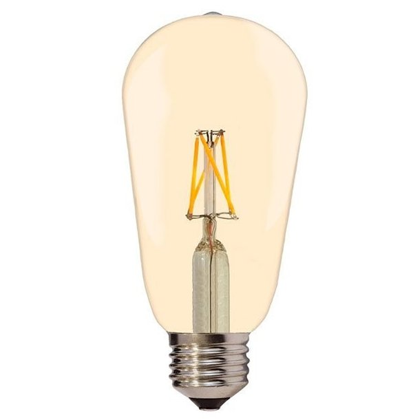 Edison Vintage 7 watt Golden