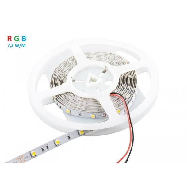 LED strips RGB 7,2W/m